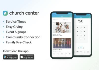 Our New App: Church Center